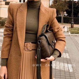 Flash sale🔥Zara wool blend coat bloggers favorite